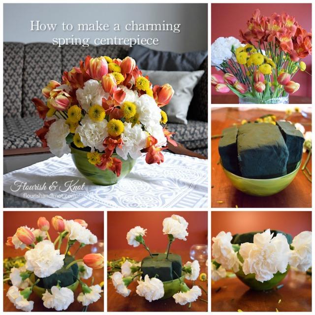 A charming spring centrepiece tutorial