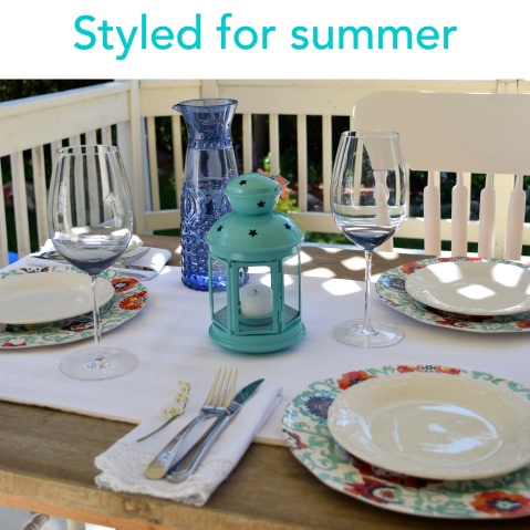 Styling a summery table with Flourish & Knot