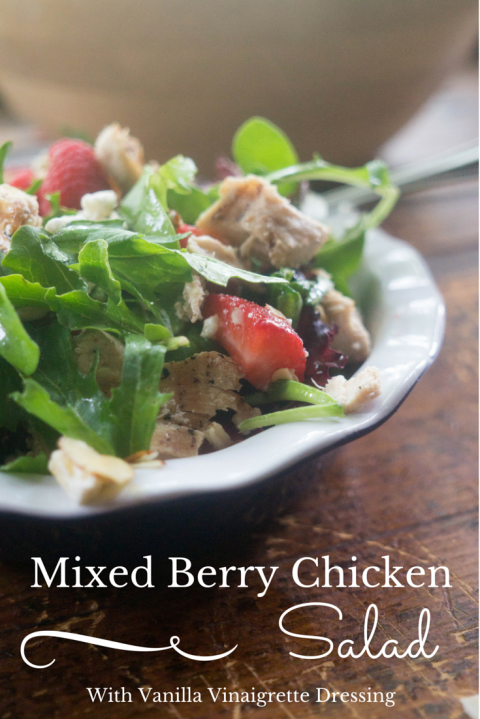 Mixed Berry Chicken Salad