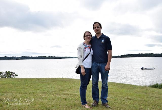 Sarah and Erick in beautiful Georgetown, Prince Edward Island