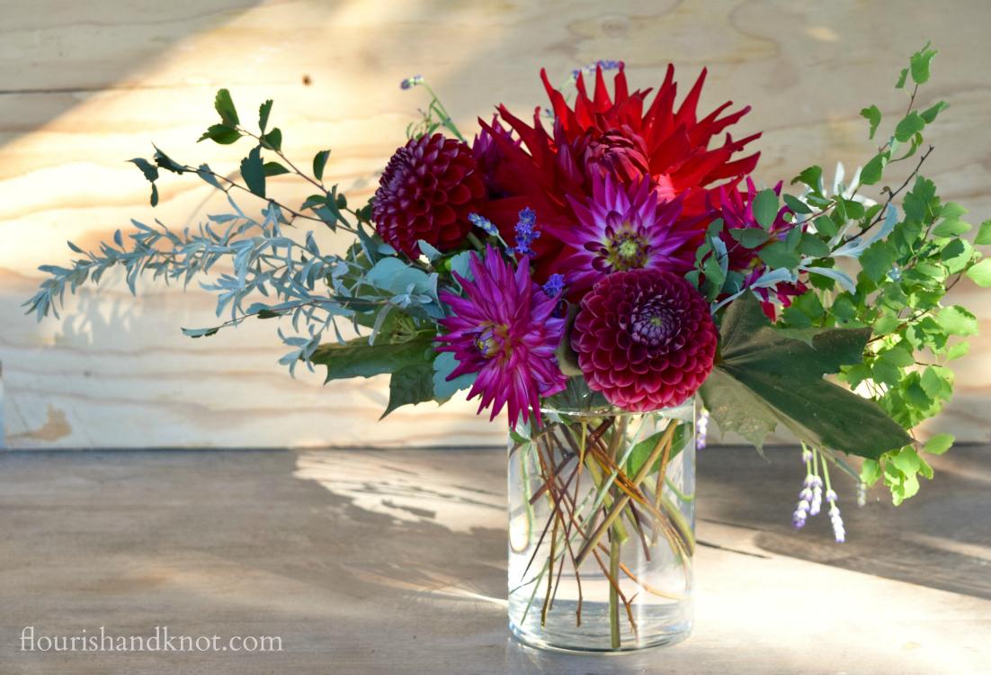 Bountiful Blooms A Harvest Arrangement Tutorial