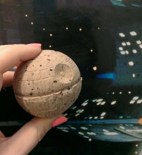 Death Star Bath Bomb by Veelightful