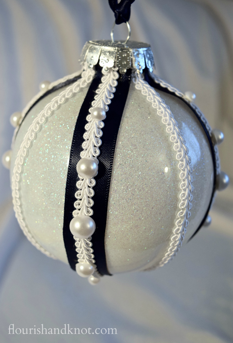 A Faberge-Inspired DIY Ornament (for $10!) | flourishandknot.com