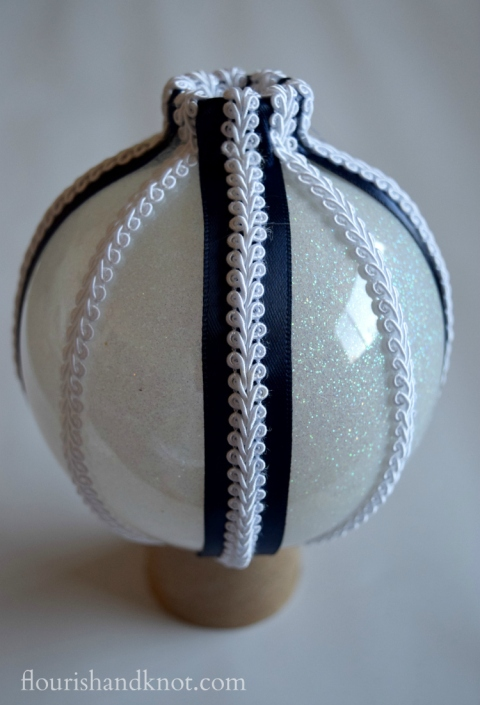 A Faberge-Inspired DIY Ornament (for $10!) | flourishandknot.com