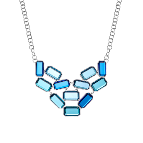 Kelly blue necklace