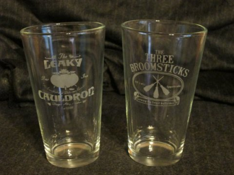 Leaky Cauldron:Three Broomsticks Glasses