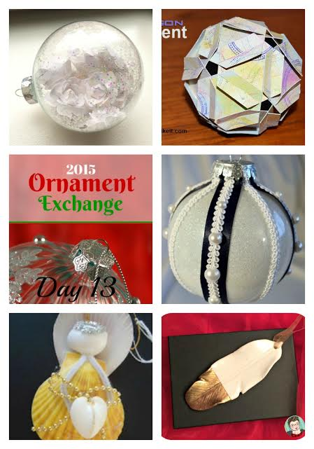 The 2015 Ornament Exchange | flourishandknot.com