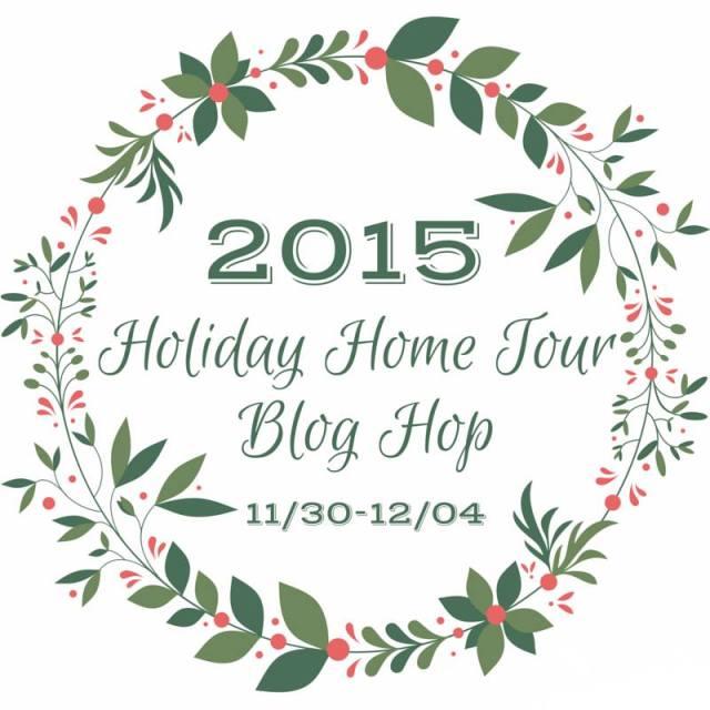 Holiday Home Tour Blog Hop | flourishandknot.com