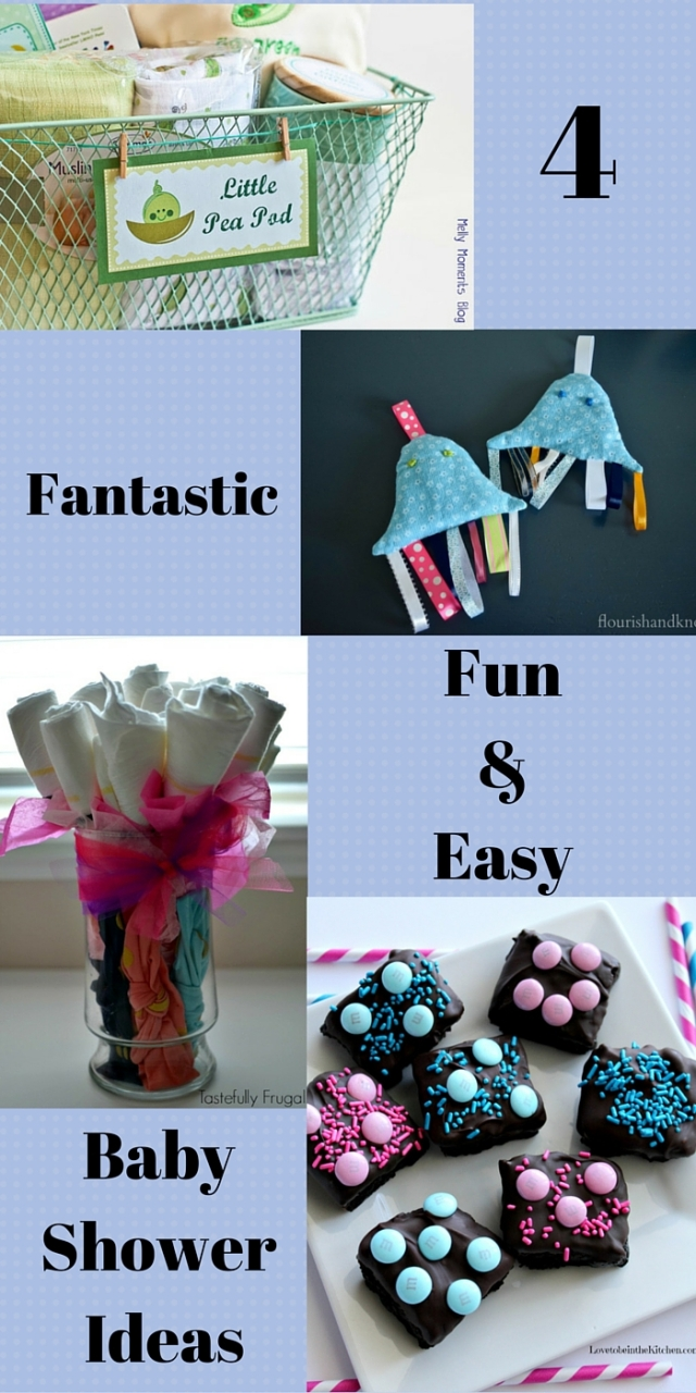 4 Fantastic Easy & Fun Baby Shower Ideas   Baby Shower Blog Hop   flourishandknot.com